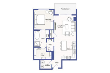 Apartment 816 floor plan