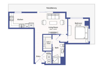 Apartment 803 floor plan
