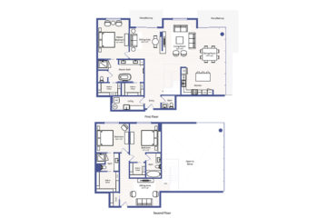Apartment 3008 floor plan