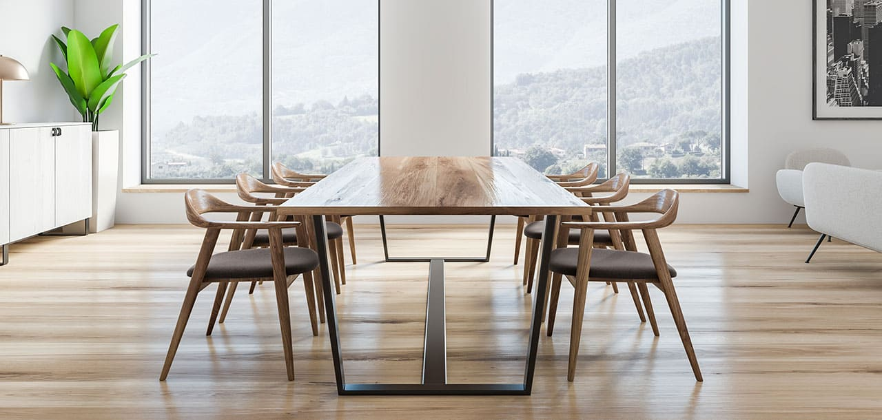 Photo of a dining table